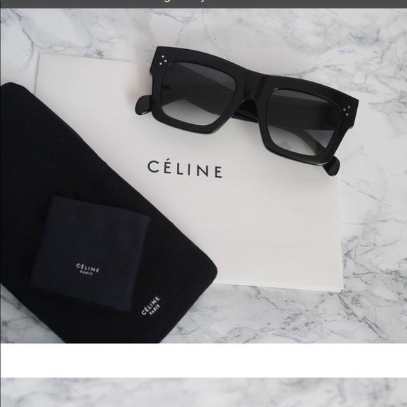 e6ae3e5807c3c Celine 41054 flat Top sunglasses 😎😎🕶🕶